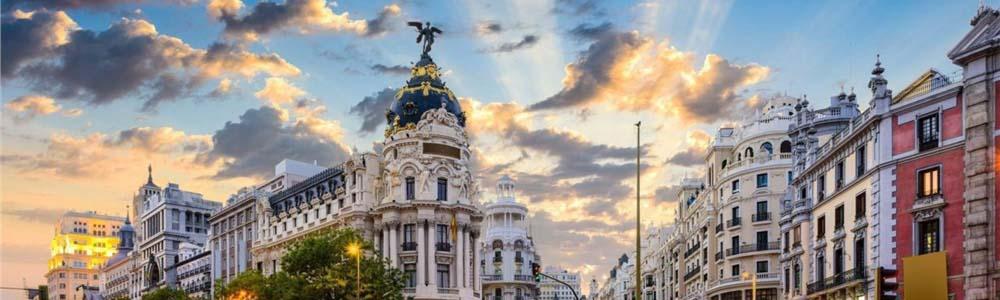 авиабилеты Париж Мадрид дешево