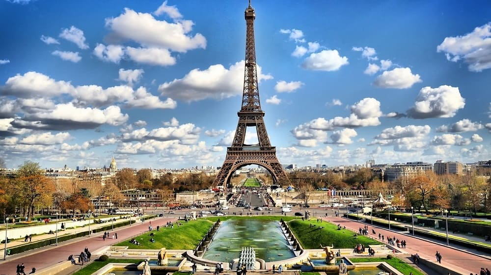 авиабилеты Жирона Париж дешево