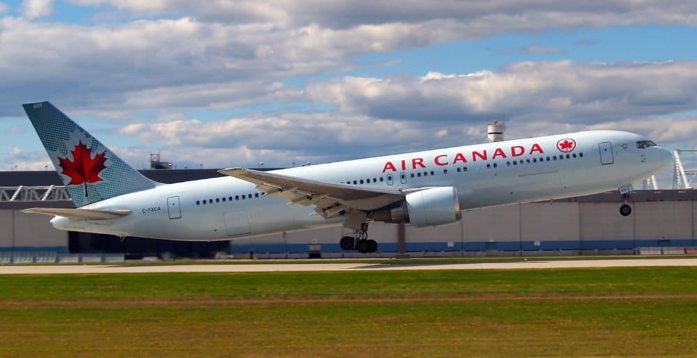Билеты авиакомпании Air Canada