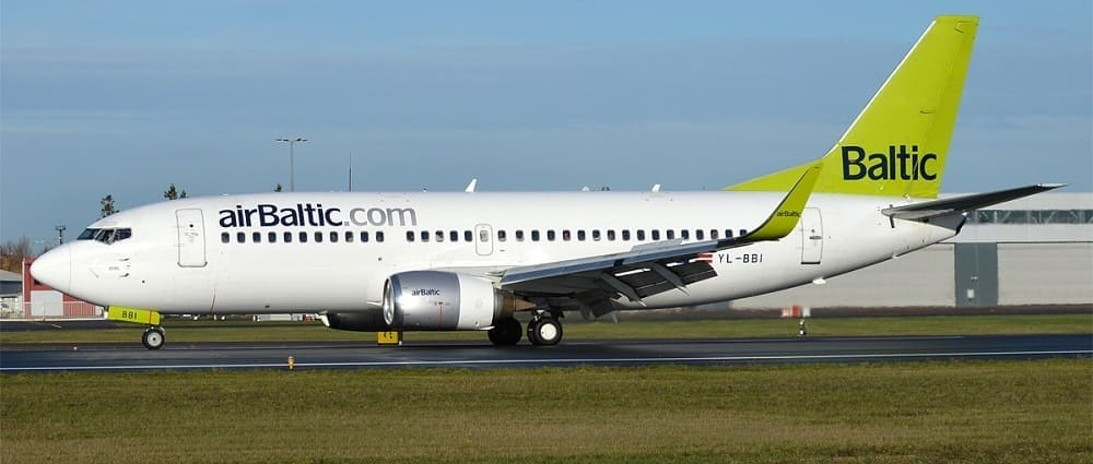 Билеты авиакомпании AirBaltic