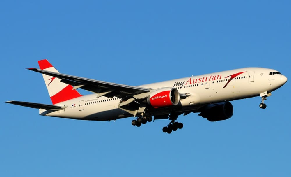 Билеты авиакомпании Austrian Airlines