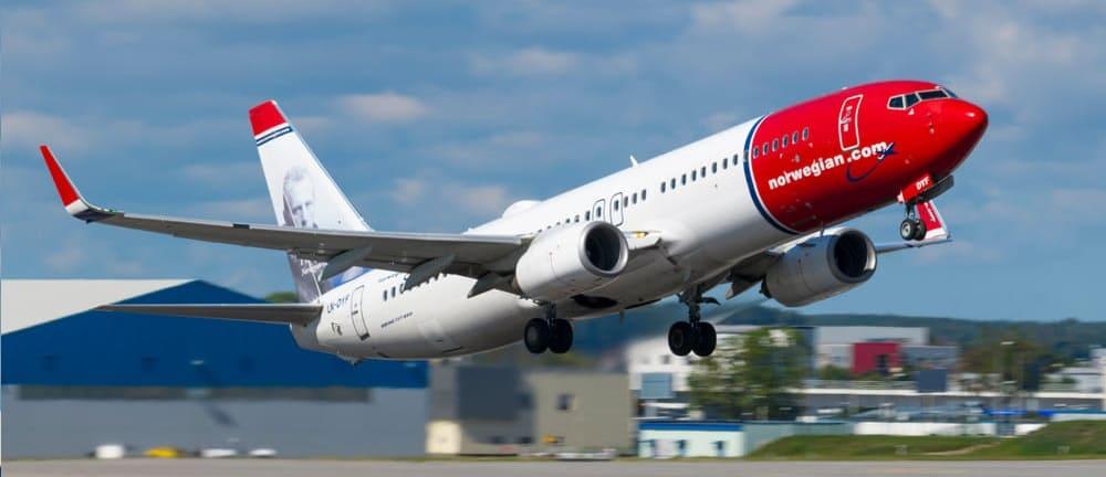 Билеты авиакомпании Norwegian