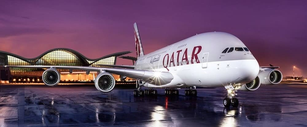 Билеты авиакомпании Qatar Airways