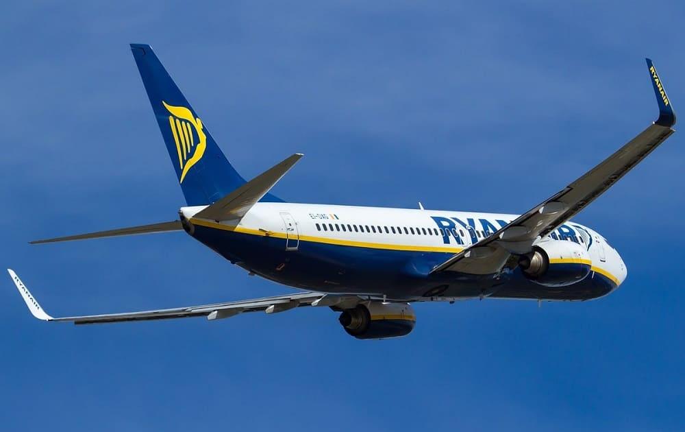 Билеты авиакомпании Ryanair
