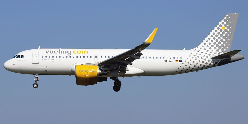Билеты авиакомпании Vueling