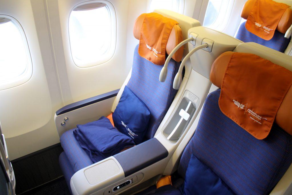 Комфорт-класс самолет