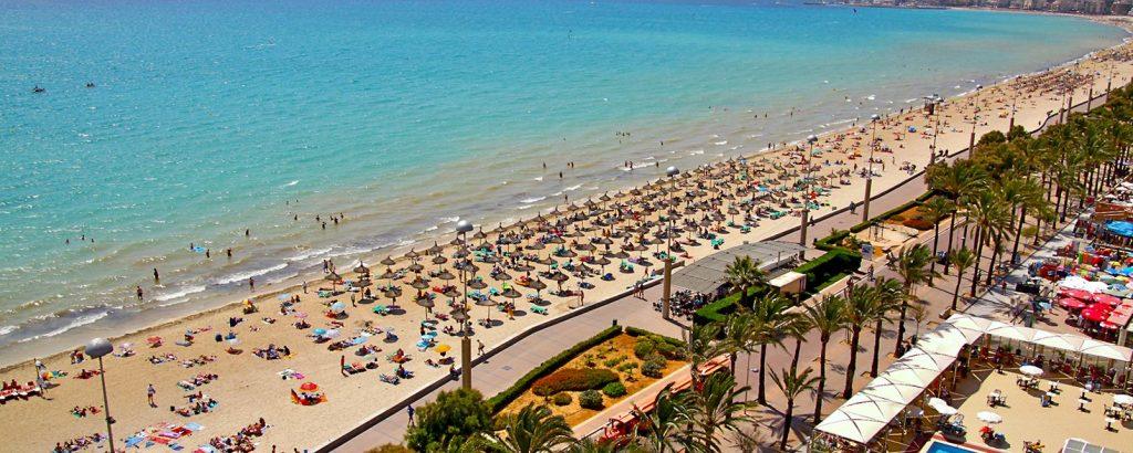 пляж Плайя де Пальма Майорка