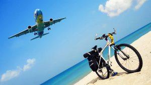Велосипед самолет