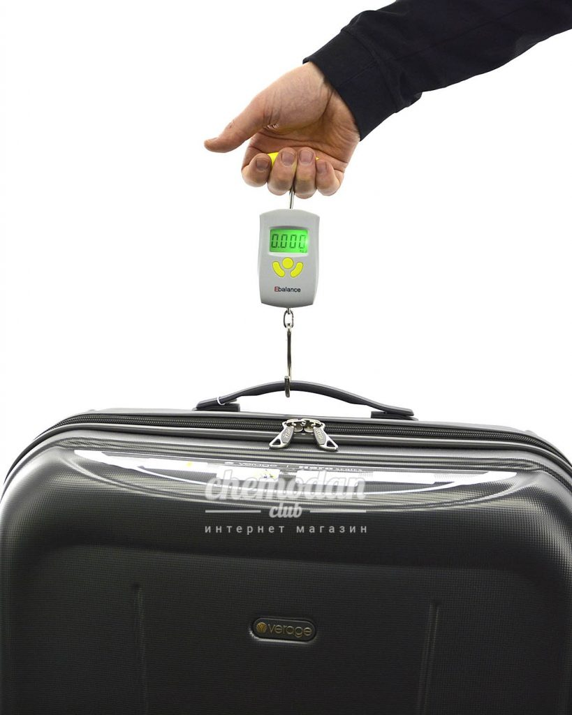 взвешивание багажа ручной клади