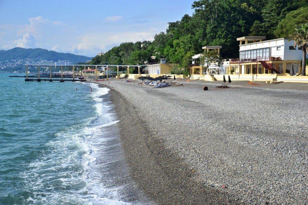 Сочи пляж