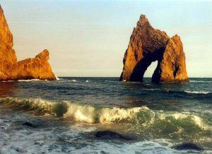 Крым Коктебель Золотые ворота Кара-Дага