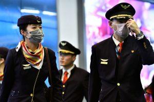 Стюардесса в маске