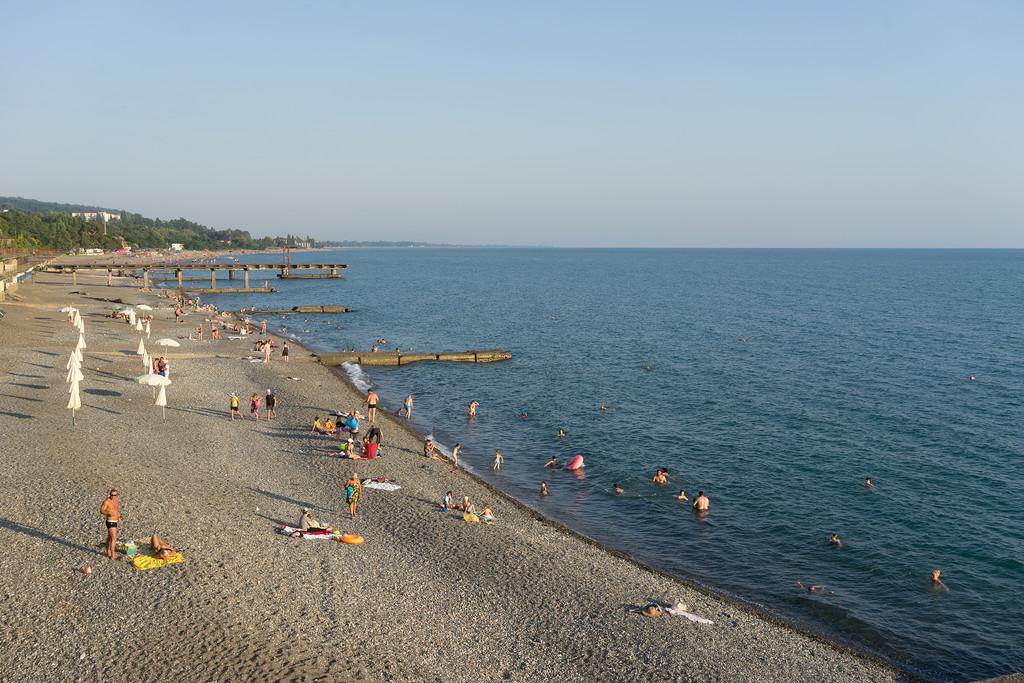 Сухум Абхазия пляж