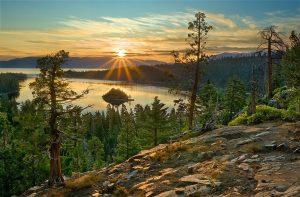 Карелия озеро закат