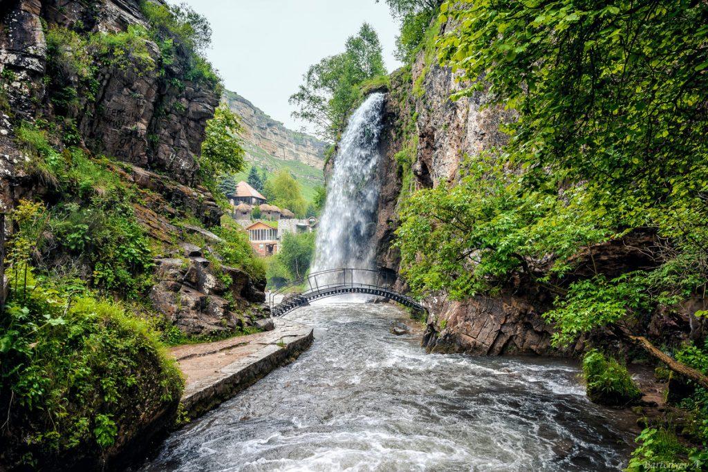 Медовые водопады Кавказ