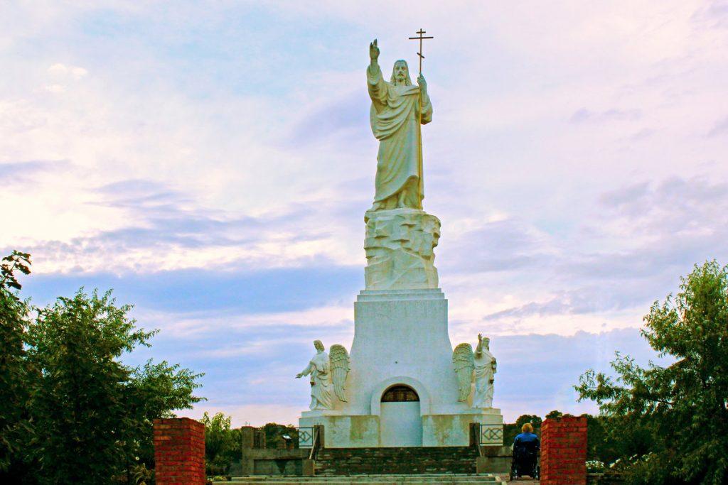 статуя Иисуса Христа Кавказ Россия