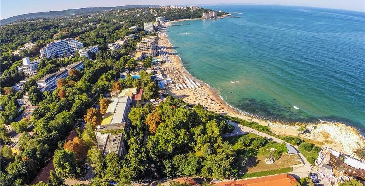 Святой Константин и Елена пляж панорама
