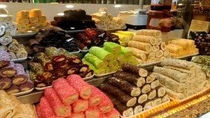 турецкие сладости лукум рынок базар
