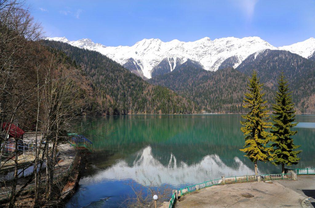 Абхазия достопримечательности озеро Рица