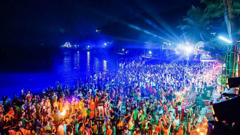 Фул Мун Full Moon Party Панган Таиланд