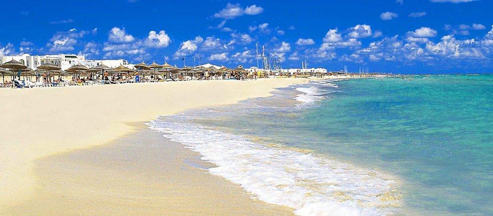 Хаммамет Тунис пляж