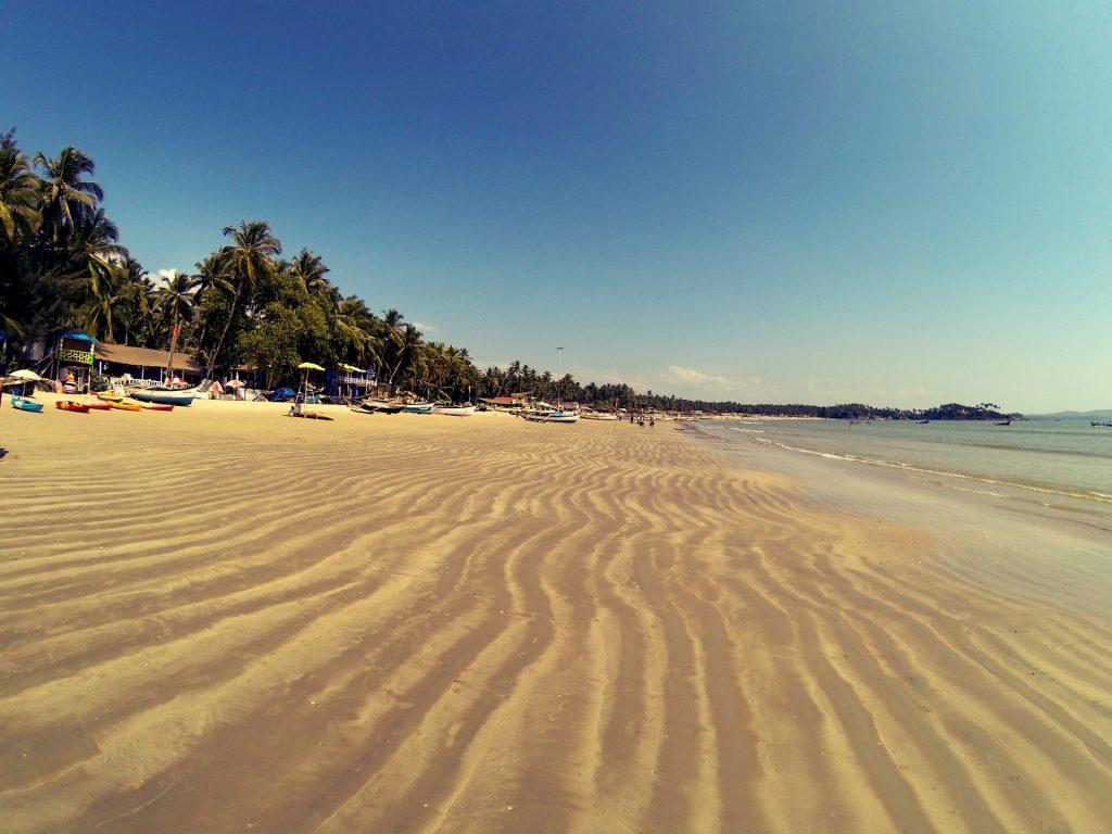 Песчаные пляжи Гоа