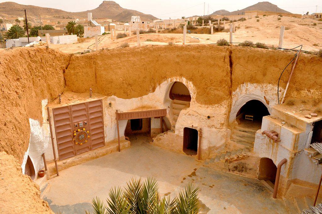 Пещеры Матматы Тунис Звездные воины
