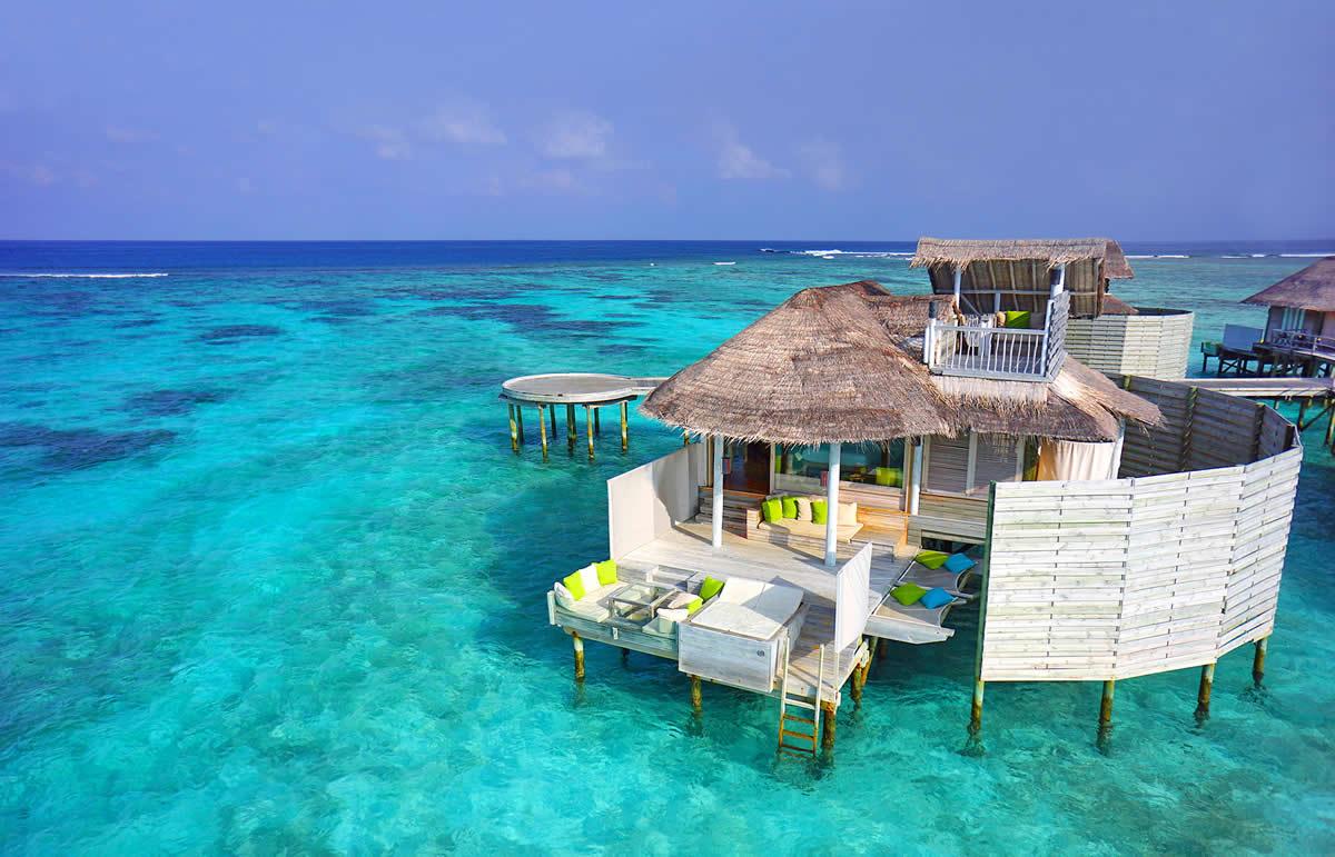 Водные виллы Мальдивы