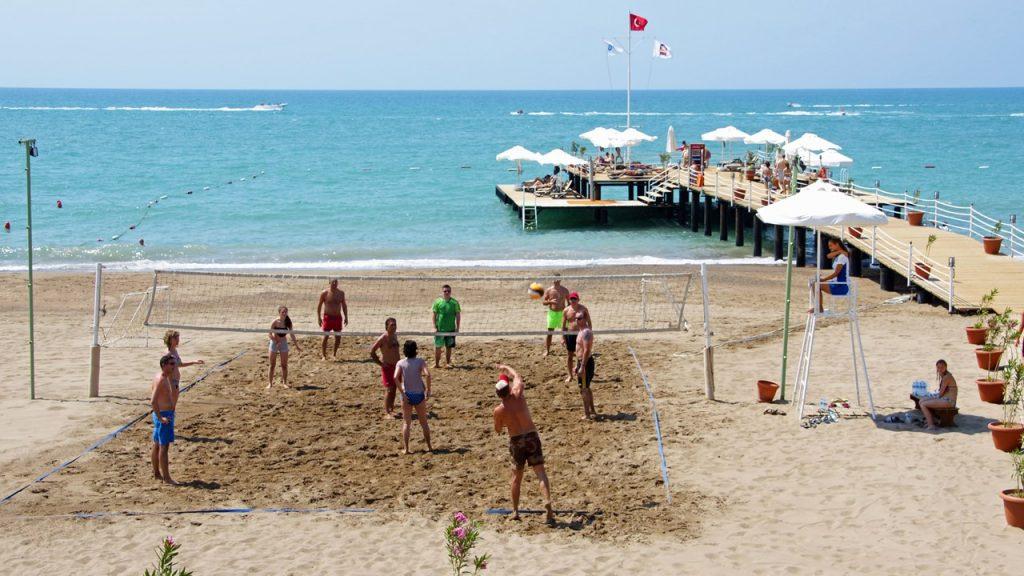 Лара Турция пляж волейбол