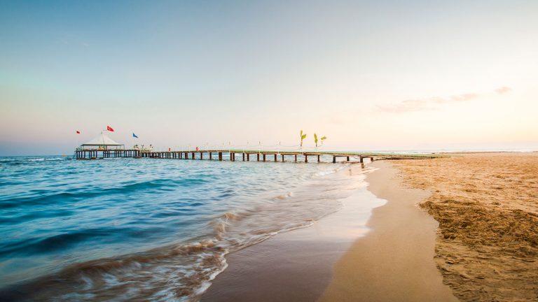 Пляж Сиде Турция