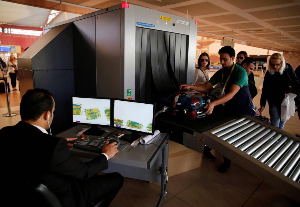 багаж в аэропорту проверка интроскоп