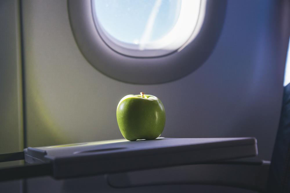 яблоко самолет фрукты