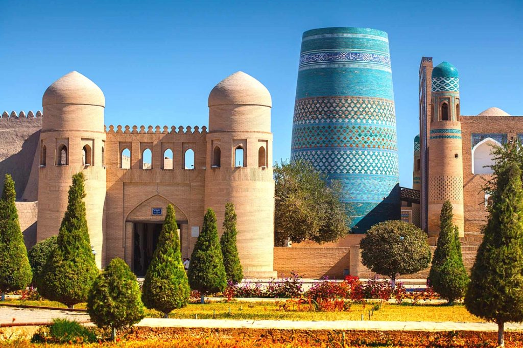 Ичан-Кала в Хиве Узбекистан
