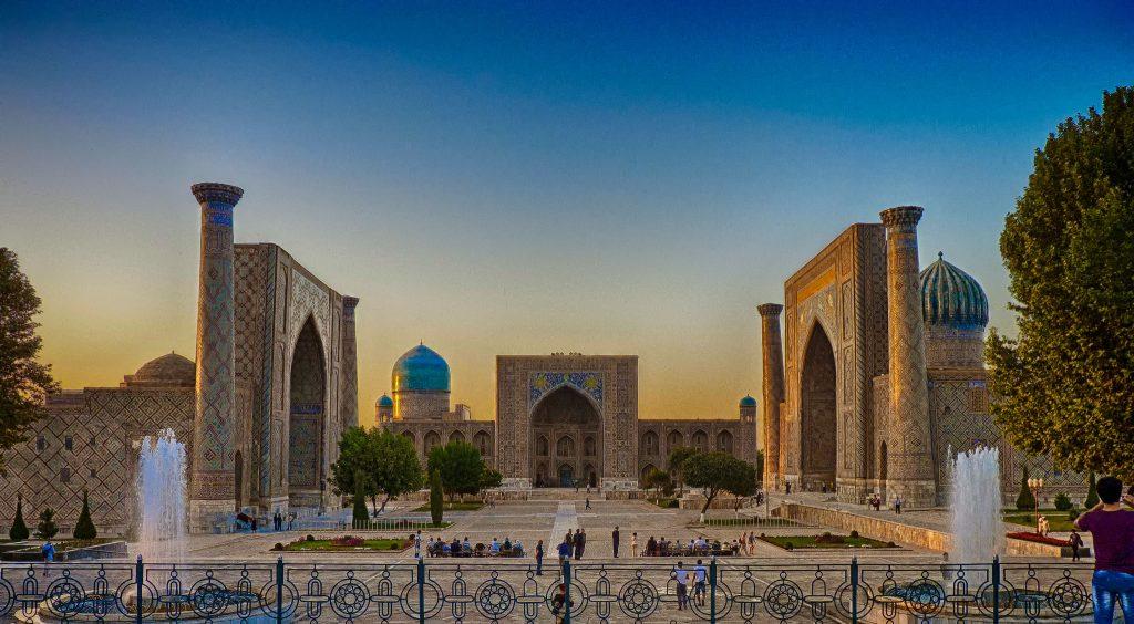 Регистан Самарканд