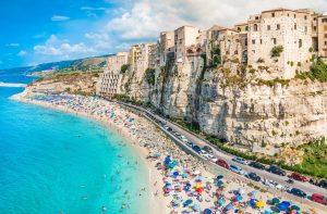 Тропеа Италия пляж