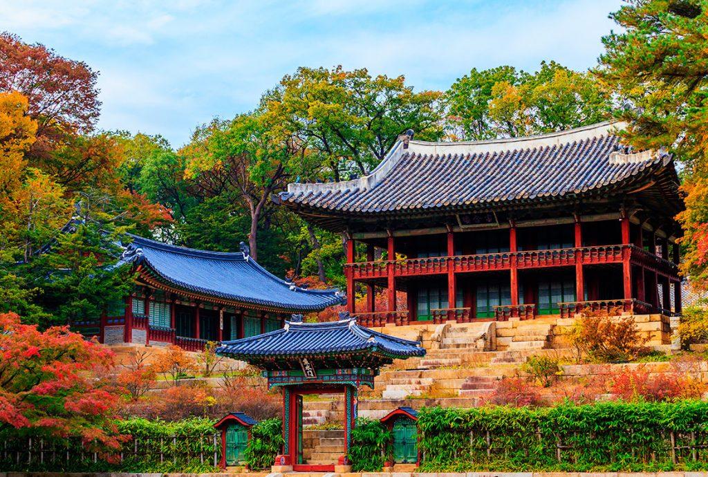 Дворцовый комплекс Кёнбоккун Южная Корея