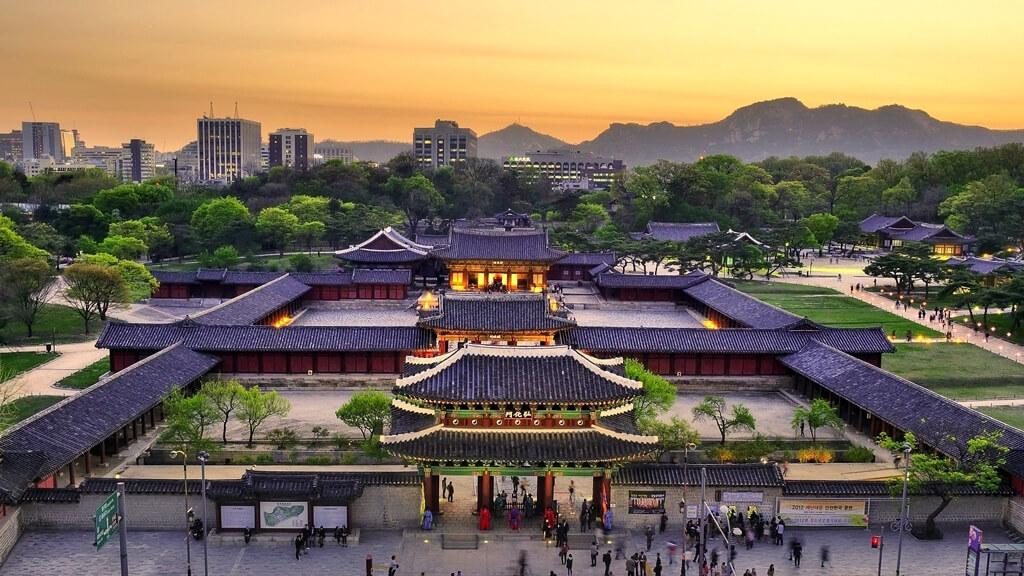 Сеул Корея красивые фото Чхандоккун