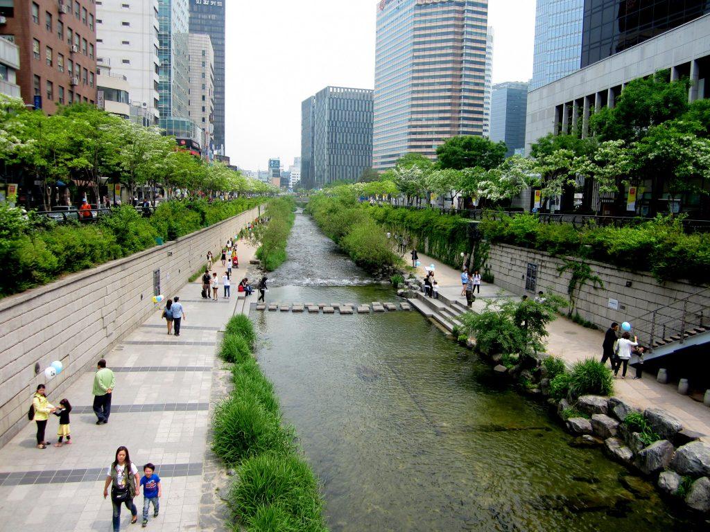 Парк Чхонгечхон Южная Корея