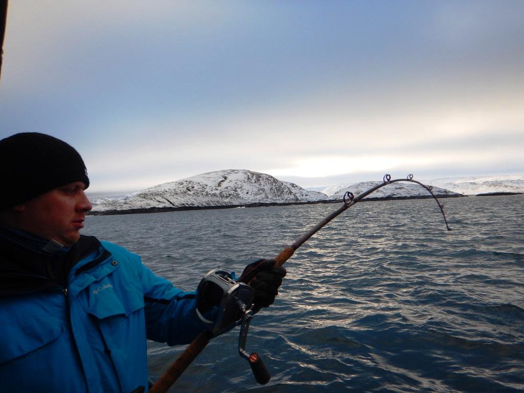 Териберка рыбалка в море Мурманск