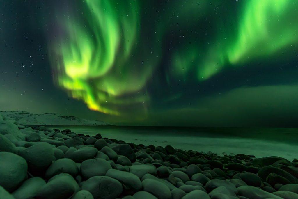 Северное сияние в России Териберка красивые фото
