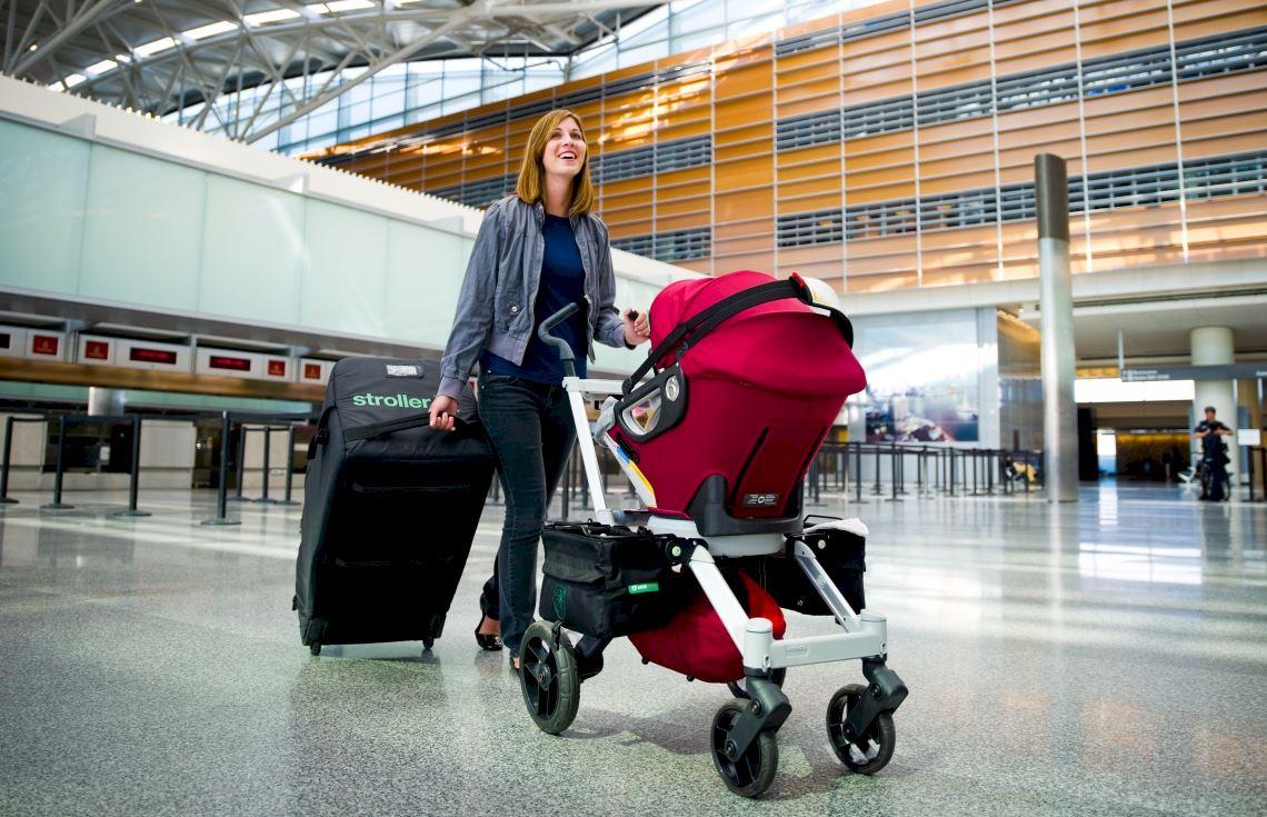 коляска в аэропорту перевозка сколько стоит