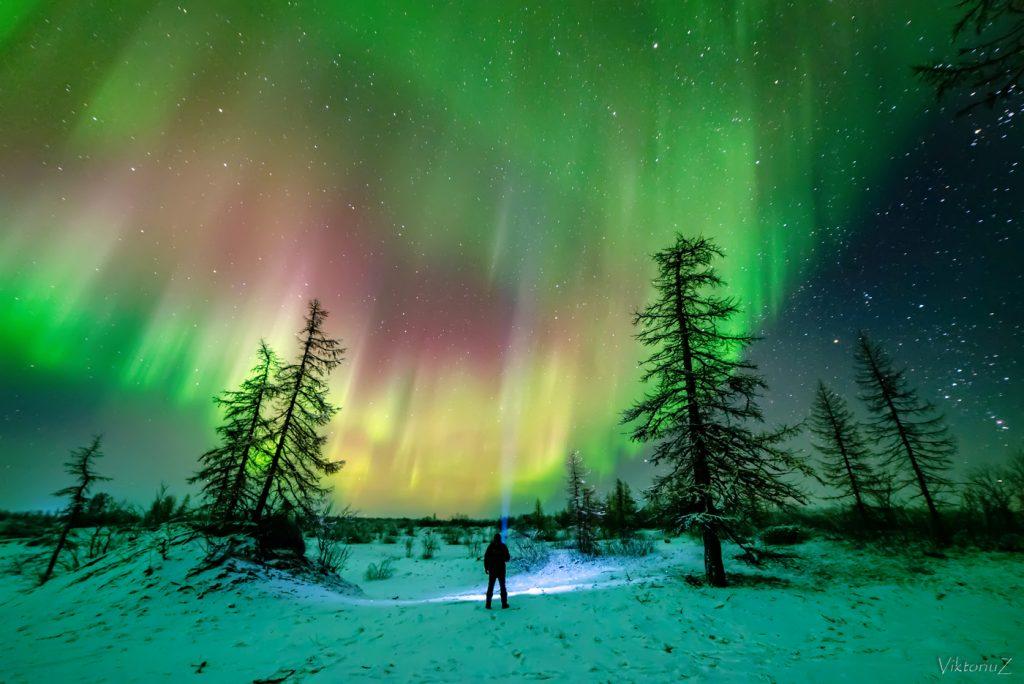 Нарьян-Мар небо северное сияние как добраться