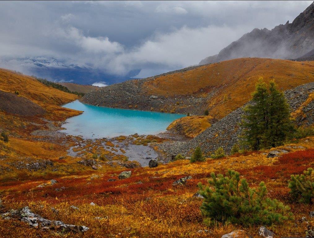 Каракабакские озера Алтай