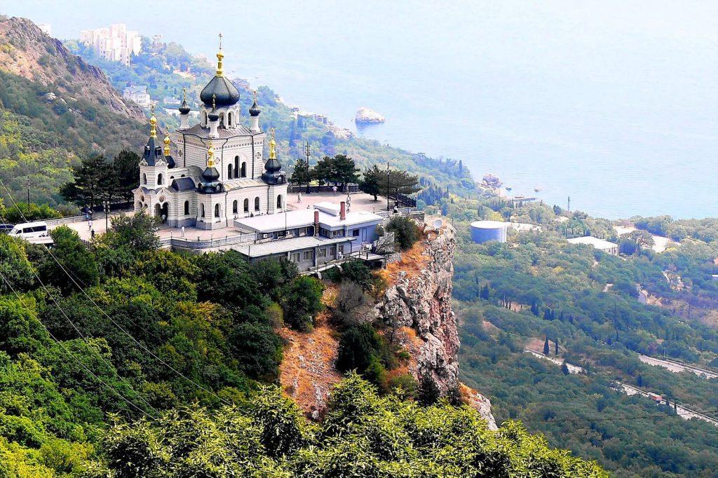 Форосская церковь Крым достопримечательности