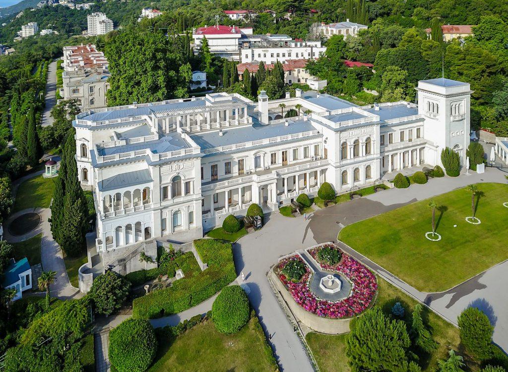 Ливадийский дворец - крымская резиденция императорской семьи