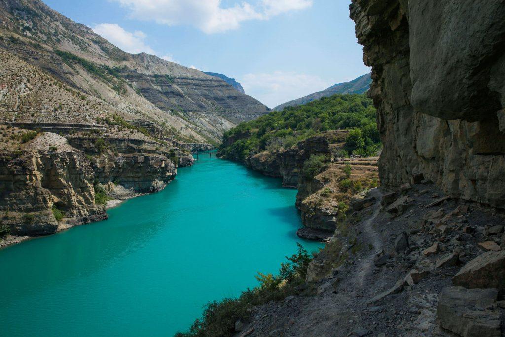 Сулакский каньон Дагестан