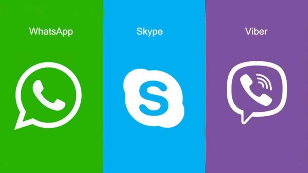 Viber,WhatsAppиSkype - самые популярные мессенджеры