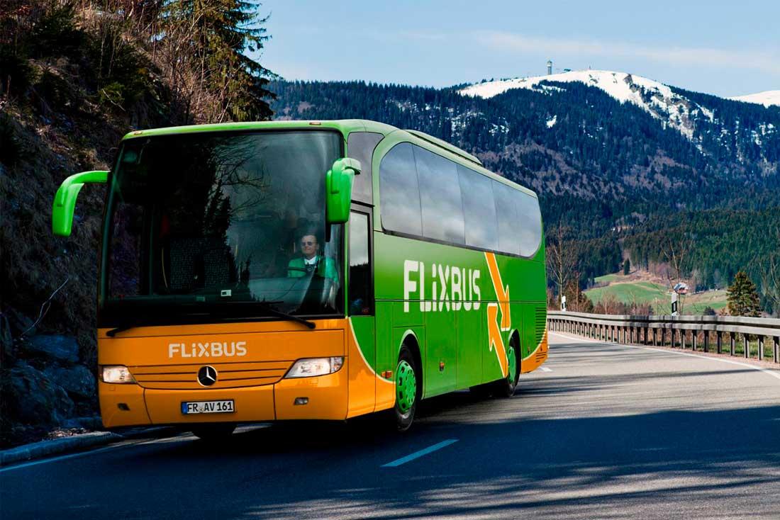 Фирменные автобусы Flixbus