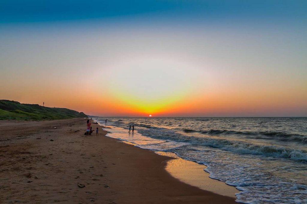 Пересыпь пляжи отдых