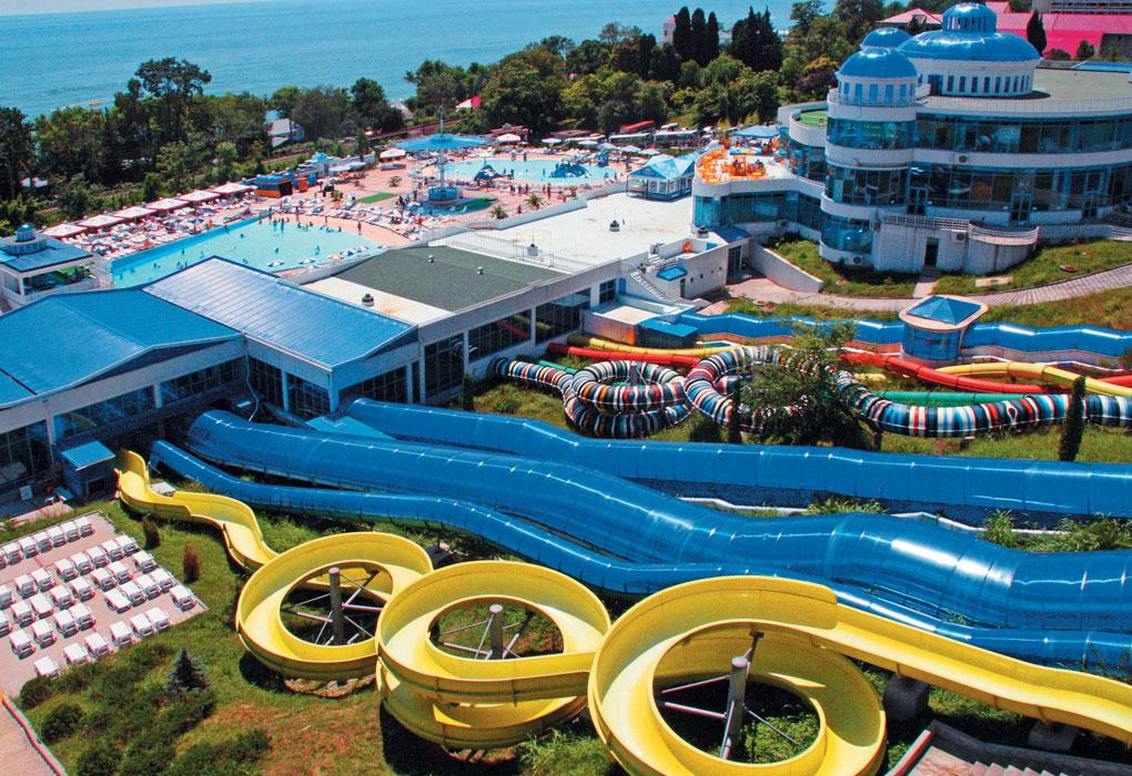 АкваЛоо аквапарк Сочи